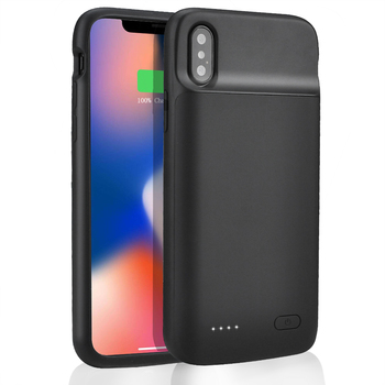 цена на Hot Power Bank Battery Case Charging 5000mah For iPhone X Xs Max Battery Charger New Power Bank 4100mah For iPhone X Xs