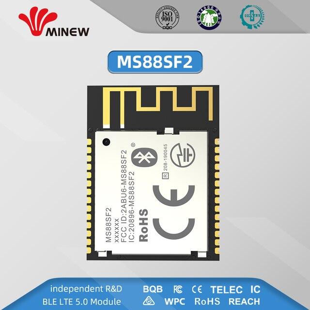 Nordic Zuverlässige Partner Minew Long Range Bluetooth 5 Ble 5,0 nRF52840 Modul Mesh Modul BLE 5,0 basierend auf nRF52840 soCs