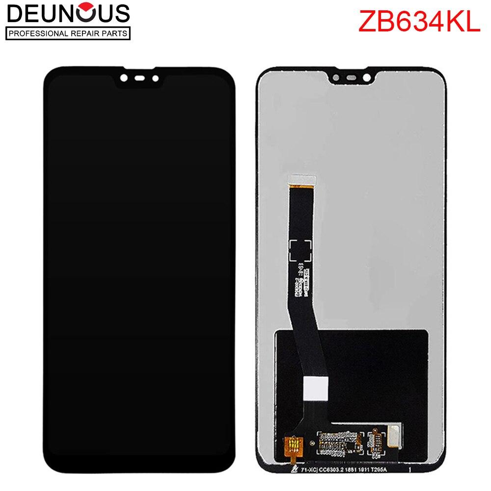 ЖК-дисплей 6,26 дюйма для Asus Zenfone Max Plus(M2)/ Shot ZB634KL, сенсорный экран с дигитайзером в сборе, для Asus ZB634 KL, оригинал