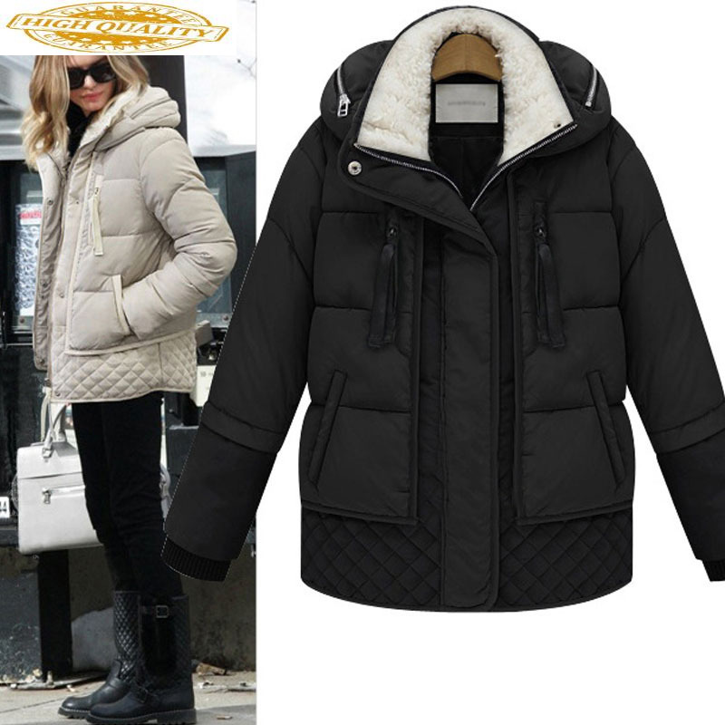 Winter Coat Women Down Jacket Plus Size Korean Thick Parka Puffer Womens Jackets Doudoune Femme Hiver YY-0025 KJ3039