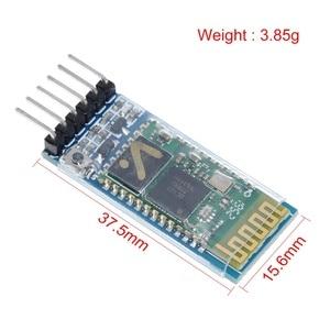 Image 2 - Tzt hc05 HC 05 master slave 6pin JY MCU anti reverso, módulo de passagem serial integrado de bluetooth, dai serial sem fio