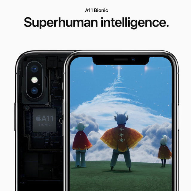 "Original Apple iPhone X 3GB RAM 64/256GB ROM 5.8"" iOS Hexa Core Smart Phone 12.0MP Dual Back Camera Unlocked 4G LTE Mobile Phone 4"