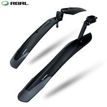 RBRL Bike Mudguard Set MTB Fender E-Bike 26 27.5 29 Mountain Bike TPE Widen Lengthen Quick Release Patent Design RL-910