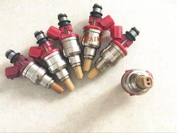 6x  FUEL INJECTOR NOZZLE 195500-2190 1955002190  JE1513250/R 1571052E00 FOR MAZDA MPV 1992-1998 .