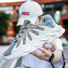 Men Sneakers Stylish Designer Casual Shoes Black White Walking Footwear Breathable Mesh Platform
