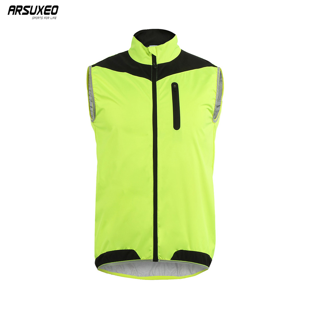 Men/'s Cycling Wind Vest Bike Bicycle Waistcoat Sleeveless Jersey Cycling Gilet
