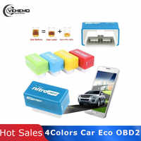 Fuel Save 15% Nitro Truck obd2 Eco Full Chip Hho Generator Camion oEcoOBD2 Economy Chip Tuning Box OBD Car Saver Eco For Cars