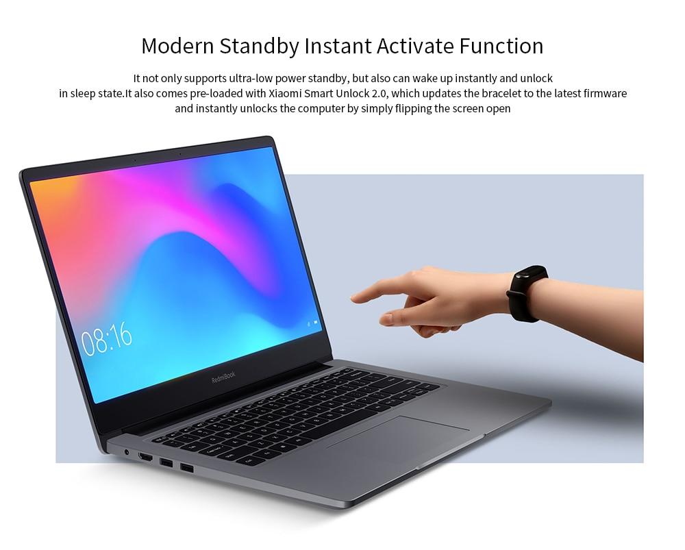 Xiaomi RedmiBook 14 inch Notebook Windows 10 OS / Intel Core i5-10210U 4.2GHz CPU / 8GB DDR4 RAM + 512GB SSD Laptop Enhanced Edition