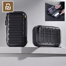 Youpin escondido à prova de choque saco de armazenamento multi camada absorção de choque de armazenamento queda design de moda luz que acompanha preto