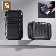 Youpin المخفية صدمة واقية حقيبة التخزين متعدد الطبقات تخزين امتصاص الصدمات خريف موضة تصميم ضوء المصاحبة الأسود