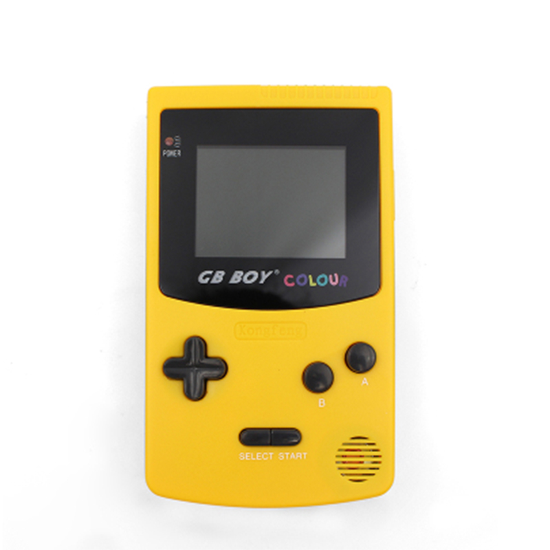 """5Pcs GB Boy Colorful Color Handheld Game Player 2.7"""" Portable Classic Game Console  With Backlit 66 Built-in Games Video game"""