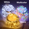 30 50 100m LED String Lights Street Fairy Lights Remote control Waterproof Outdoor Christmas Garden Wedding Party Decoration promo