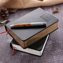 Retro Da Xách Tay Dày Giấy Kinh Thánh Nhật Ký Sách Notepad Mới Trống Hàng Tuần Kế Hoạch Viết Xách Tay Công Sở Đồ Dùng Học Tập