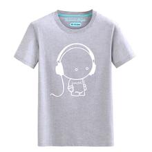 Luminous Short Sleeves T-Shirt For Boys T Shirt Christmas Teen Girls Tops Size 3-15 years Teenage Toddler Boy Tshirts Costume