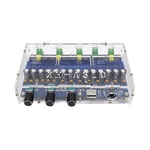Image 1 - TPA3116D2 carte Audio amplificateur Bluetooth 2x50W + 2x100W amplificateur de caisson de basses amplificateur de puissance numérique 4 canaux