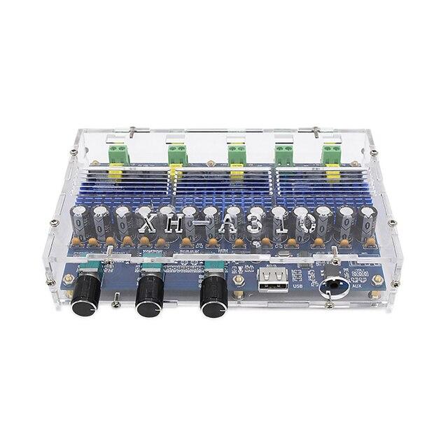 TPA3116D2 carte Audio amplificateur Bluetooth 2x50W + 2x100W amplificateur de caisson de basses amplificateur de puissance numérique 4 canaux