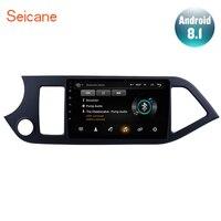 Seicane Android 8.1 9 2Din Car Radio For 2011 2012 2013 2014 KIA PICANTO Morning GPS Navigation Head Unit AUX Wifi 4 Core 1080P