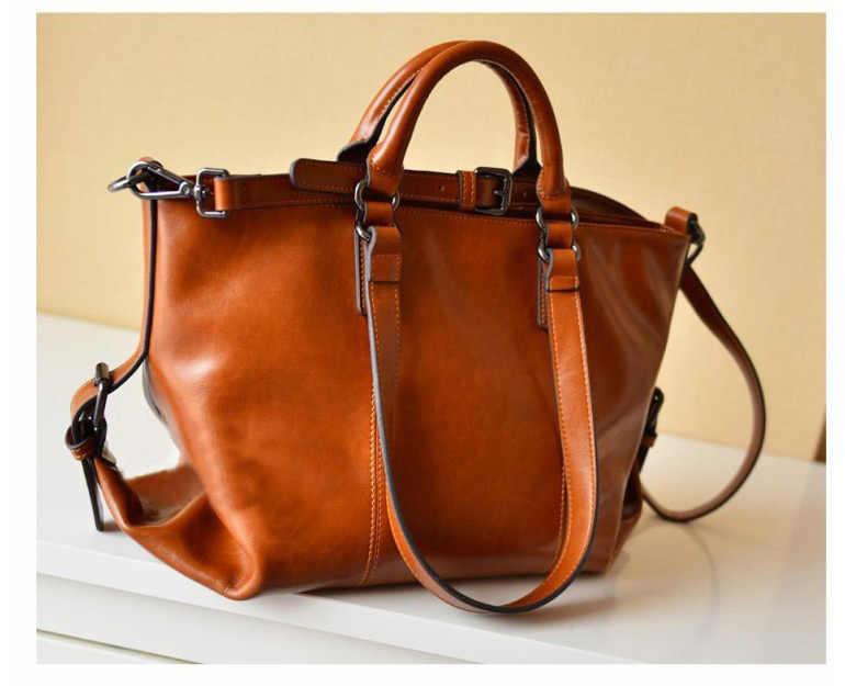 Роскошные женские сумки из натуральной кожи, женские ретро элегантные сумки через плечо, женские сумки ручной работы из коровьей кожи, дизайнерские C1203