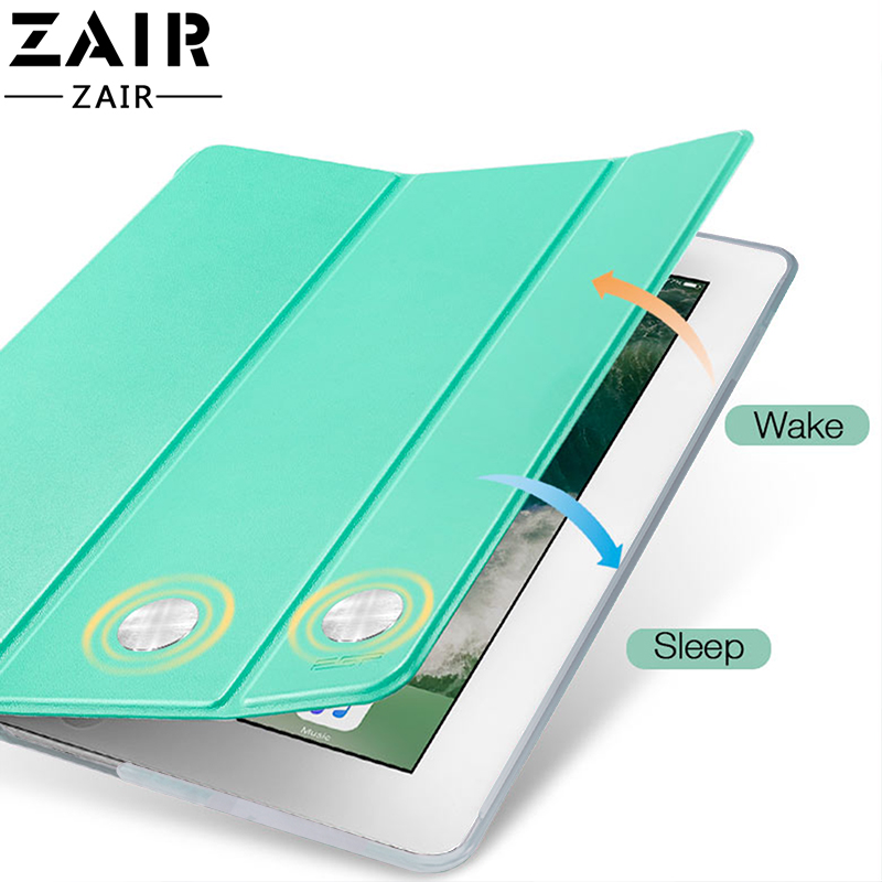 Tablet case for Apple ipad pro 11 2020 cover Smart Sleep wake Stand Three fold solid