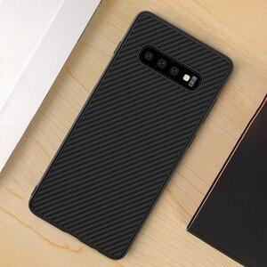 Image 2 - sFor Samsung Galaxy S10 Plus Case Nillkin Synthetic Fiber Carbon Fiber PP Back Cover Case for Samsung Galaxy S10 Plus S10+ S10E