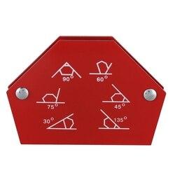 Sześciokątny pozycjoner spawalniczy 25LB magnetyczny stały kąt lutowania lokalizator narzędzia bez przełącznika akcesoria spawalnicze