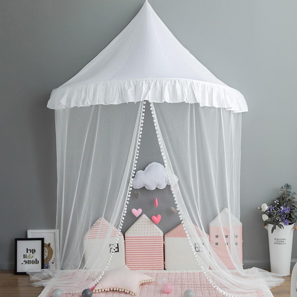 150 cm diameter children's mosquito net, Princess tent, tree crown, Castle, game room, children's bedroom kids bed