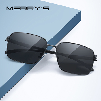 MERRYS DESIGN Men Classic Luxury Brand Sunglasses HD Polarized Sun glasses For Driving Fishing TR90 Legs UV400 Protection S8209