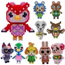 Toys Assembling Building-Blocks Decoration Animal-Crossing Raymond Creative Mini Classic