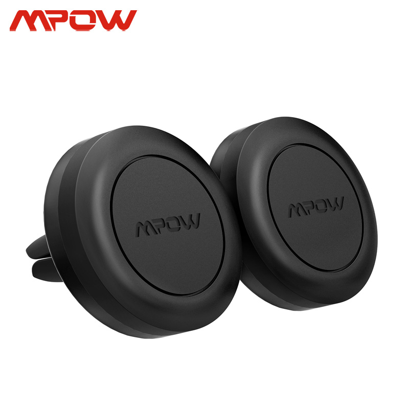 Mpow 2PCs CA018 Magnetic Car Mount Phone Holder Universal Air Vent Holder For IPhone 11 X Samsung S10 Huawei Mate 30 Xiaomi 10