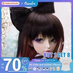 Бесплатная доставка, куклы Minifee Celine BJD 1/4, модные гибкие фигурки из смолы, женские феи, полный набор игрушек для детей, Волшебная страна