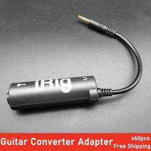 RIG гитарный интерфейс конвертер адаптер гитарные Колки для гитары эффекты перемещение для iPhone/iPod