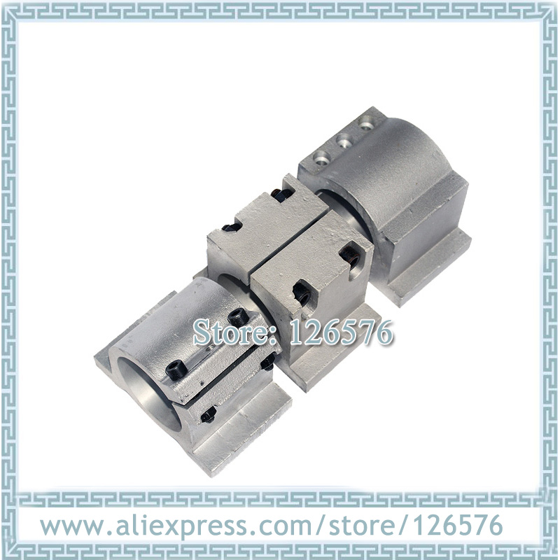 Spindle Clamp 80mm Aluminum Spindle Mounts, Spindle Bracket, Spindle Holder