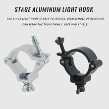Material de alumínio Palco de Luz Gancho CONDUZIU a Luz Do Efeito de Estágio Truss Braçadeira LED Par LEVOU Luz Em Movimento Da Cabeça Ganchos Grampo de Segurança