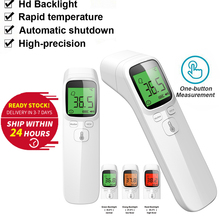 Baby Digital Infrared Non-contact Infrared Forehead Thermometer IR Handheld Thermometer Body Temperature LCD Thermometer Frontal gaomu td8380 1 2 lcd digital infrared thermometer yellow black