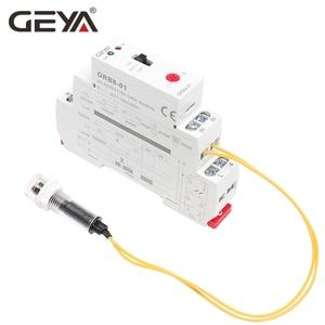 Image 5 - GEYA GRB8 01 Din Rail Twilight Switch Photoelectric Timer Light Sensor Relay AC110V 240V Auto ON OFF