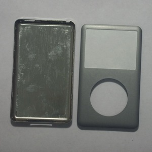 Image 2 - For iPod classic grey 80GB 120GB 160GB 128GB 256GB back cover + front cover case Gray