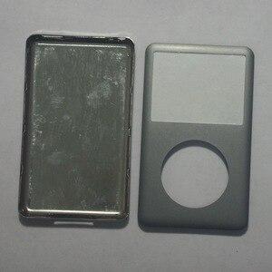 Image 2 - Для iPod классический серый 80 ГБ 120 Гб 160 Гб 128 ГБ 256 ГБ задняя крышка + передняя крышка чехол серый