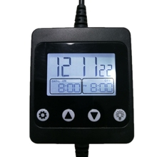 Led-Light-Controller Aquarium with Lcd-Display for Fish-Tank Intelligent Timing-Dimming-System