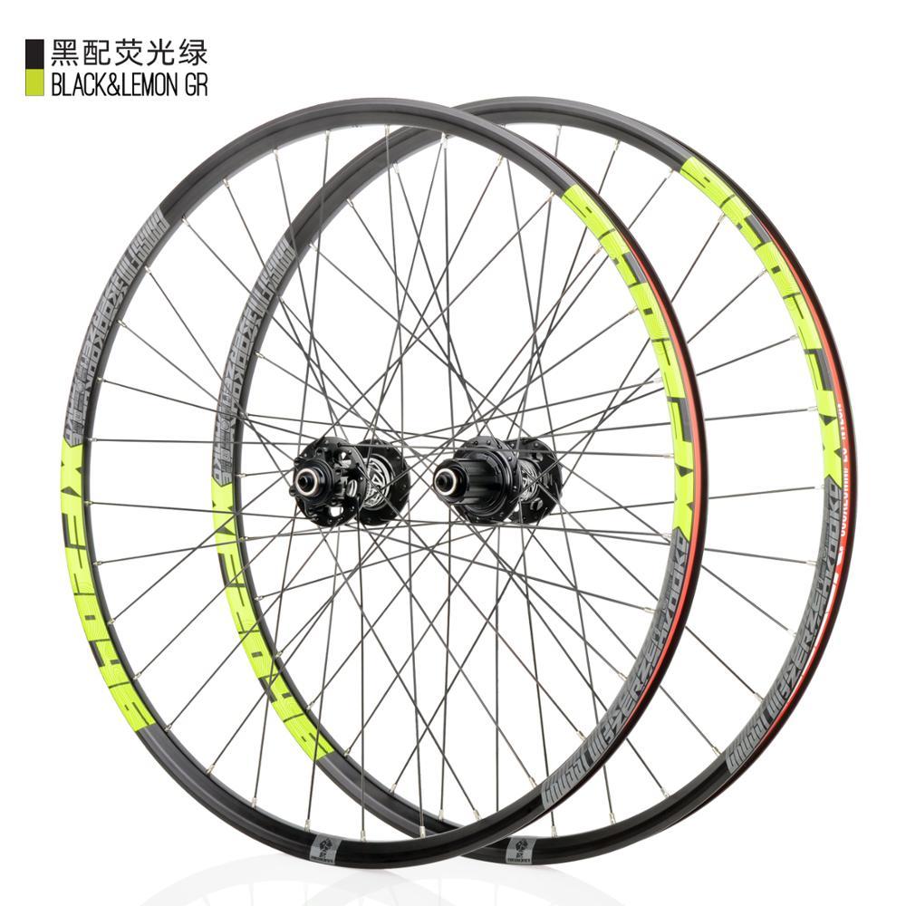 KOOZER XF2046 MTB Mountain Bike Wheelset 26/27.5/29er inch 72 Ring 4 Bearing QR Thru or QR Wheels use XM490 hub 8 9 10 11speed(China)