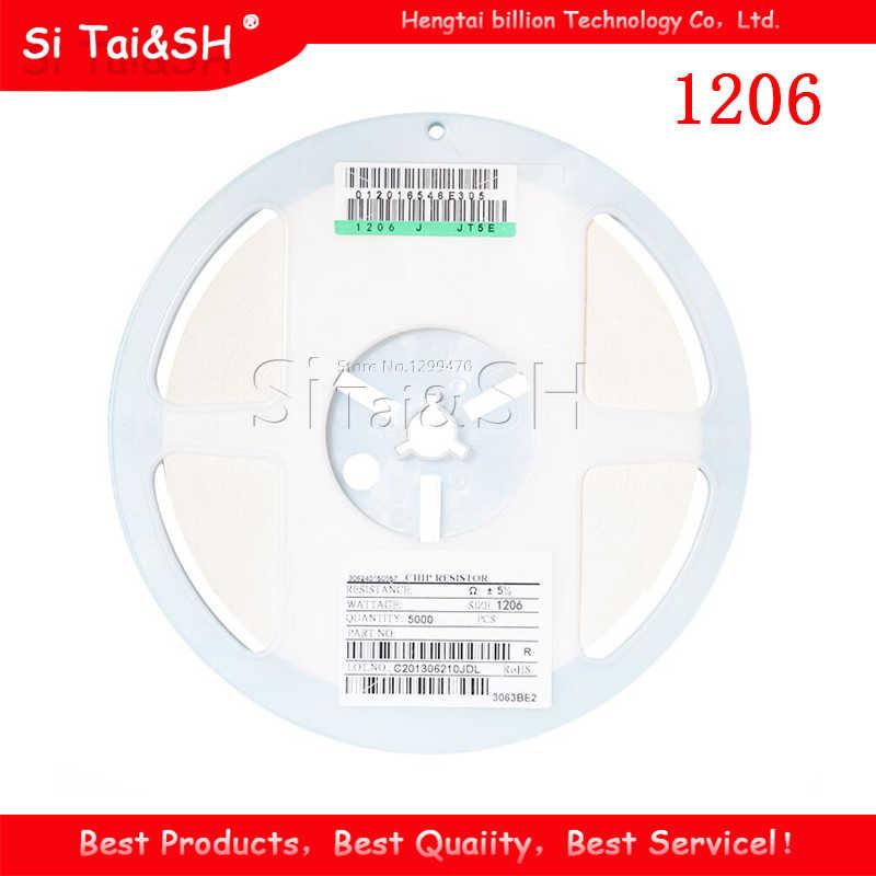 100pcs//lot 1206 SMD Resistor 1/% 1M ohm chip Resistor 0.25W 1//4W 105