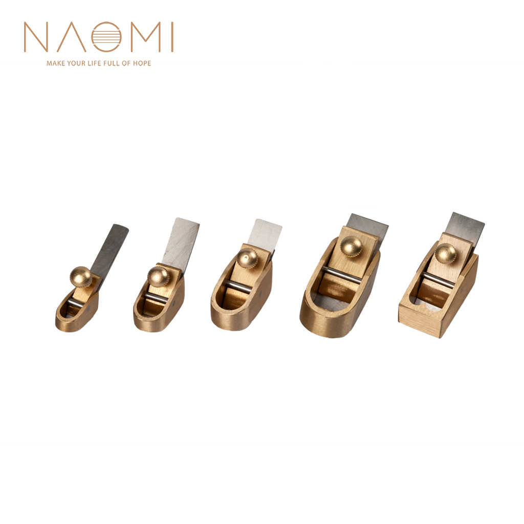 NAOMI Violin Plane Cutter Violin Tool Woodworking Plane Cutter Brass Luthier Size 1,2,3,4,5 Violin Parts Accessories New