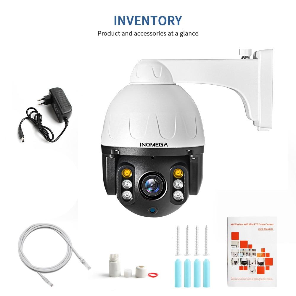 H763c722a5c904b3f84ff5f7ead1bad892 INQMEGA Cloud 1080P Outdoor PTZ IP Camera WIFI Speed Dome Auto Tracking Camera 4X Digital Zoom 2MP Onvif IR CCTV Security Camera