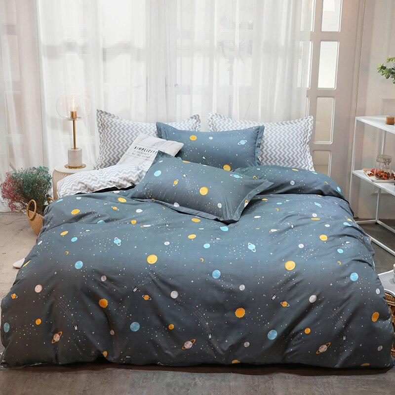 Cases Quilt-Cover Bed-Linen Bedding-Set Pillow Flat-Sheet Winter New Autumn No 5-Size