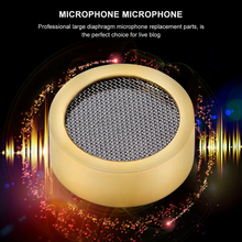 Replacement Microphone for Studio-Recording 25-Mm Capsule Condenser Cartridge-Core Diaphragm