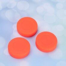 Hockey-Pucks Roller Street-Hockey Orange Ice for 12pcs Sports-Supplies Matte Sports-Supplies