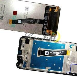 Image 4 - Tela lcd para huawei p smart, 2019, lcd, com moldura, pote lx1, lx1af, lx2j, lx1rua lx3 substituição da tela