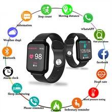 Bluetooth Smartwatch Sport Watch B57 Wrist Watch Blood Pressure Watch For Men Women Waterproof Pedometer Wristwatch Smart Watch original waterproof u8s sport u watch bluetooth smart wrist sports