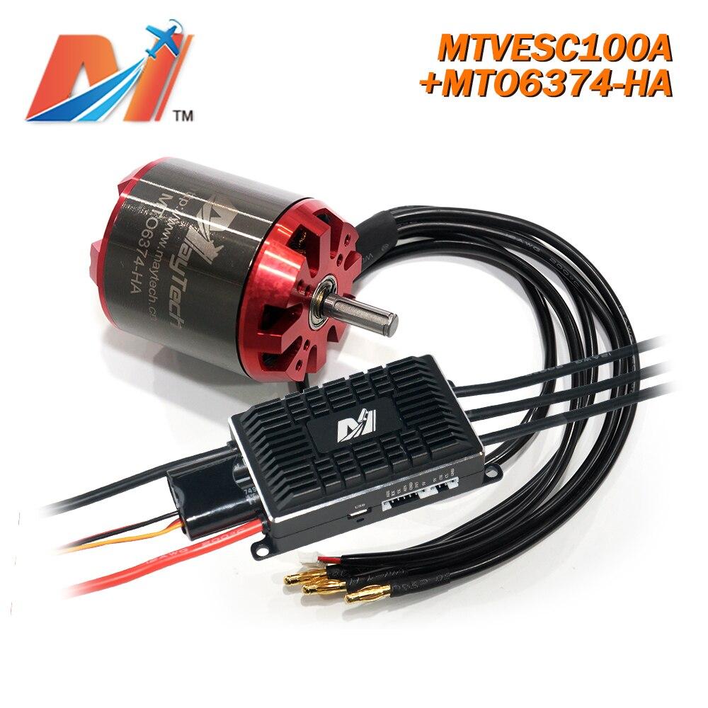 Maytech BLDC Motor 6374 90KV And SuperESC Based On Vesc For Electric Skateboard Motor Kit