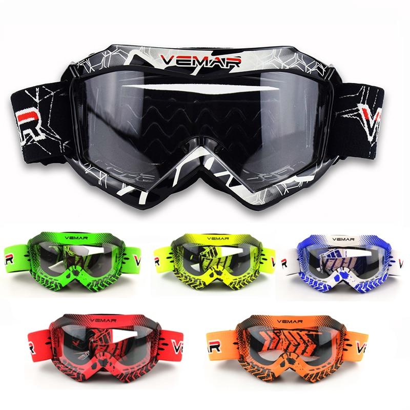 VEMAR Kids/Child/Children Motorcycle Glasses Professional MX MTB Off-Road Dirt Bike Child Goggles/Glasses For Motocross Helmet