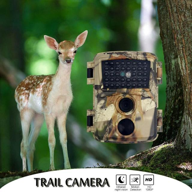 PR600 Hunting Camera 12MP 38 IR LED 3MP Color CMOS FHD 1080P Night Vision 0.8s Trigger Time Wildlife Cameras IP54 Waterproof New 1